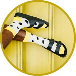 Sposoby na pocenie stóp dla sportowców - skarpetki